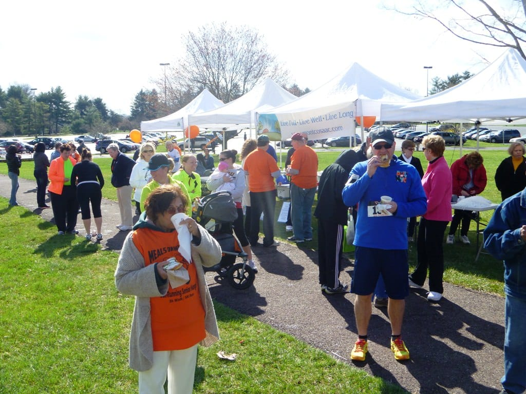 Outrunning Senior Hunger One Meal at a Time